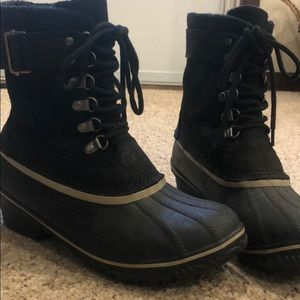 Sorel winter fancy lace ll boots